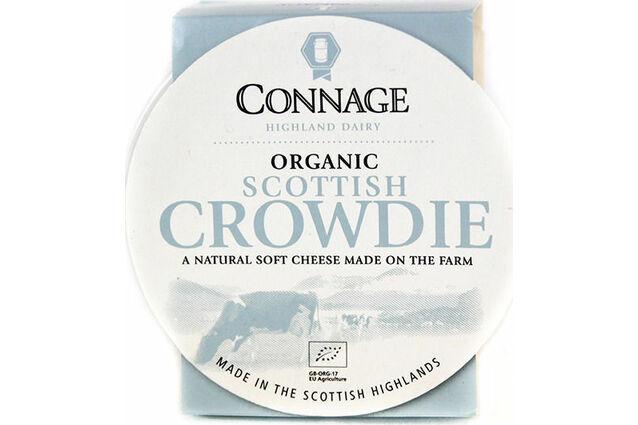 Connage Highland Dairy Organic Scottish Crowdie Soft Cheese (160g)