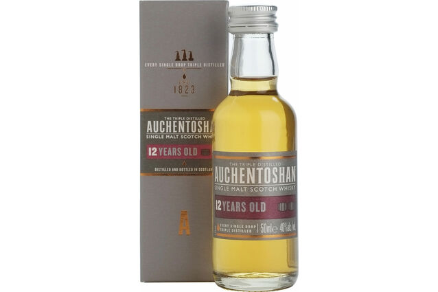 Auchentoshan 12 Year Old Whisky Miniature (5cl)