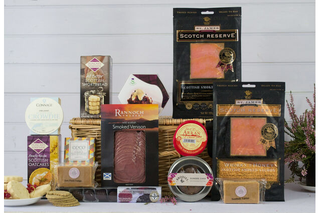 A Thank You From Scotland Hamper