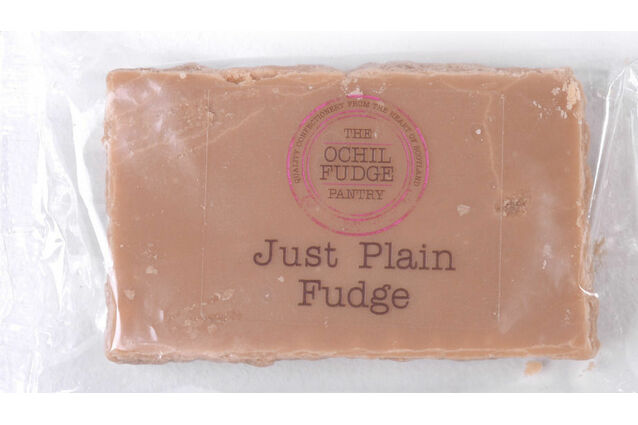 Ochil Fudge Pantry Hand made Just Plain Fudge 100g