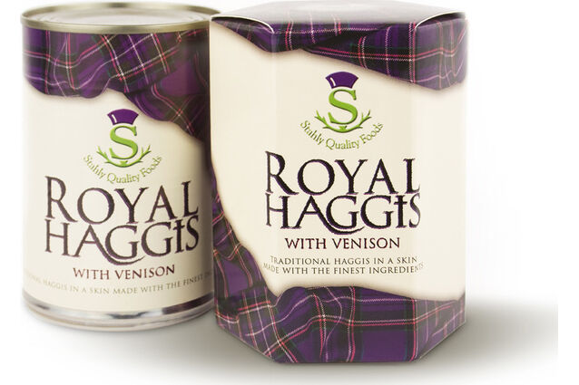 Stahly's Royal Haggis with Venison (410g)