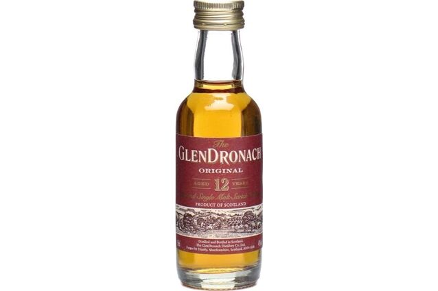 GlenDronach Original Aged 12 Years Whisky Miniature (5cl)