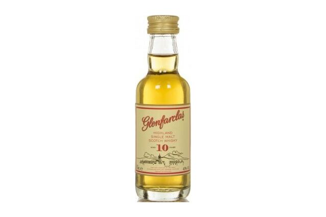 Glenfarclas 10 Year Old Whisky Miniature (5cl)