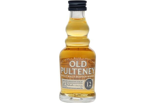 Old Pulteney 12 Year Old Whisky Miniature 5cl
